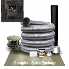 Accona Stove And Liner Complete Package