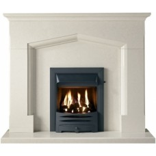 The Coniston Perla Marble Fireplace