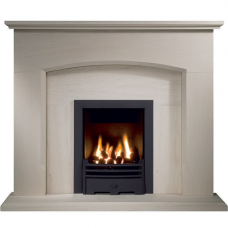 The Darcey Portuguese Limestone Fireplace