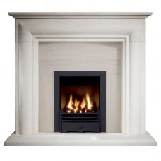 The Elle Portuguese Limestone Fireplace