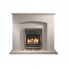 The Canwell Portuguese Limestone Fireplace