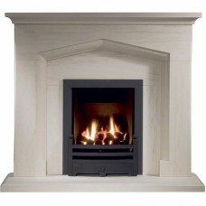 The Kenmore Portuguese Limestone Fireplace