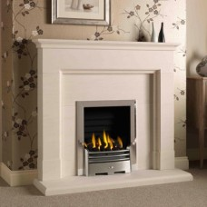 The Langwood Portuguese Limestone Fireplace
