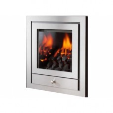 Crystal Gem Royale 4 Sided Hole In The Wall Gas Fire