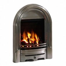 Abbey Inset Gas Fire - Full Polished