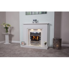The Evesham Marble Fire Surround