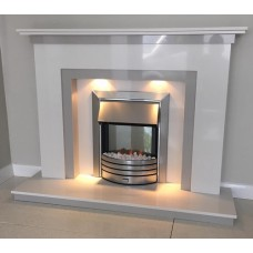 The Evesham Plus Marble Fire Surround